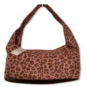 Neiman Marcus Cheetah pink Tote Shoulder Bag